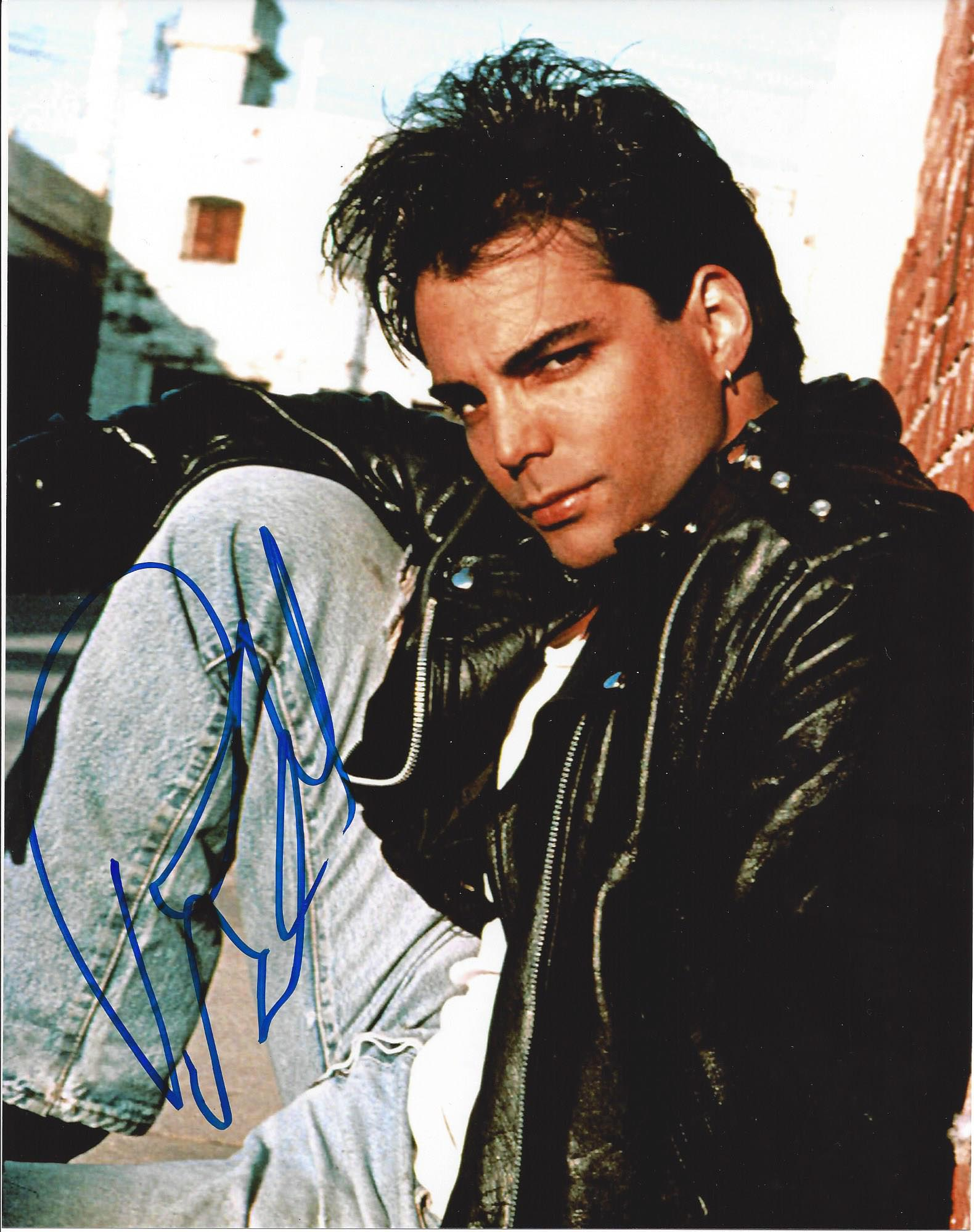 Richard Grieco 21 Jumpstreet Signed 8x10 Photo Fanboy Expo Store